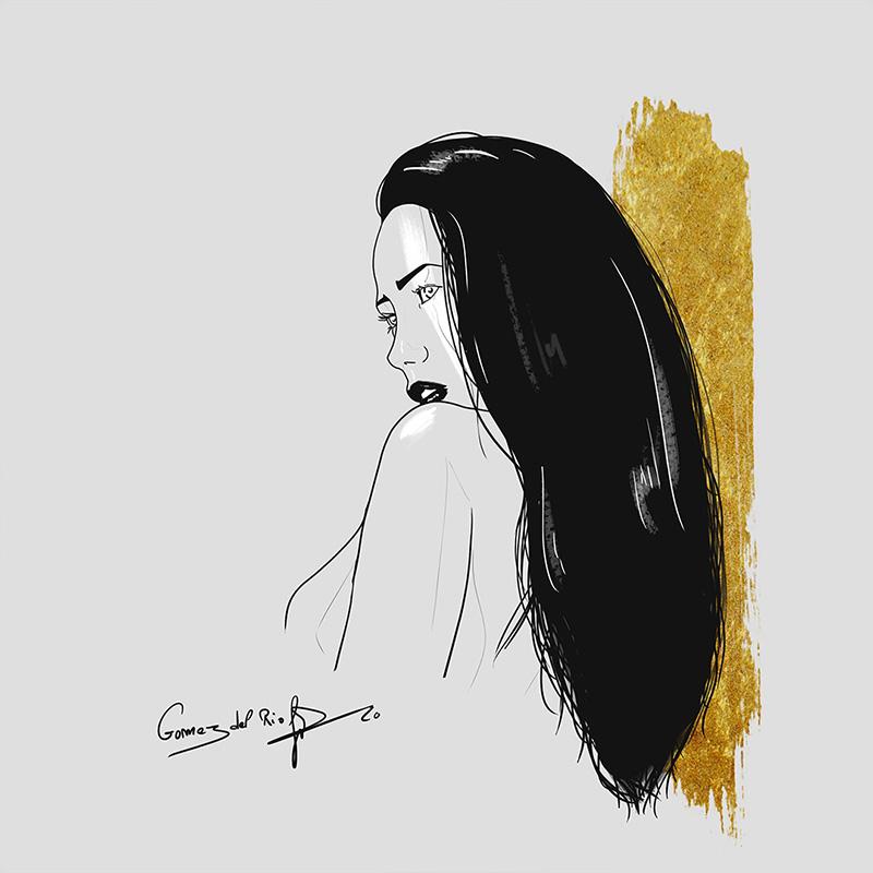 Gomez del Rio portrait femme